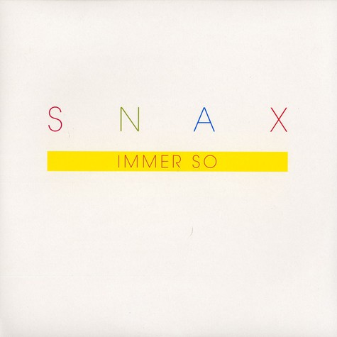 Snax - Immer so