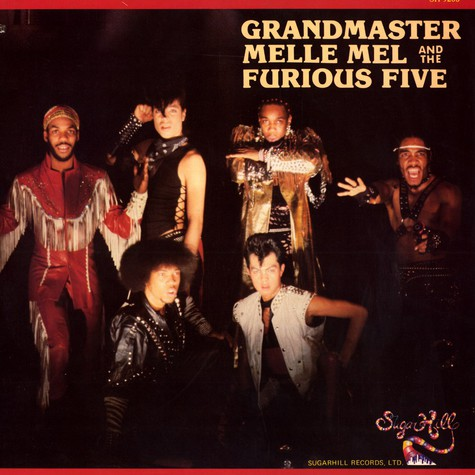 Grandmaster Melle Mel & The Furious Five - Grandmaster Melle Mel & The Furious Five