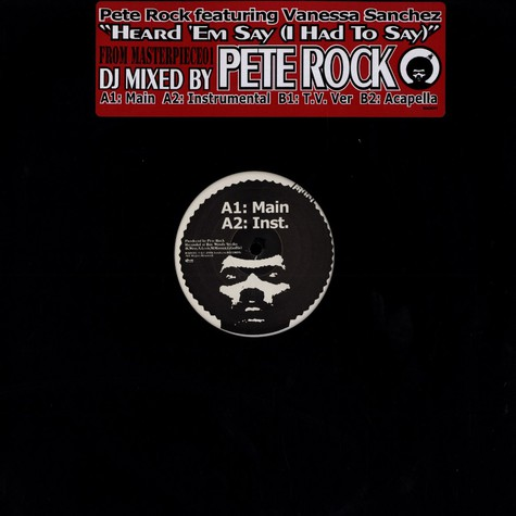 Pete Rock - Heard Em Say (I Had To Say) Feat. Vanessa Sanchez