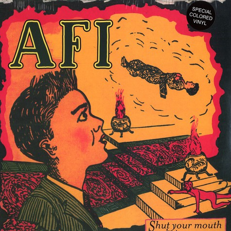 AFI (A Fire Inside) - Shut your mouth and open your eyes