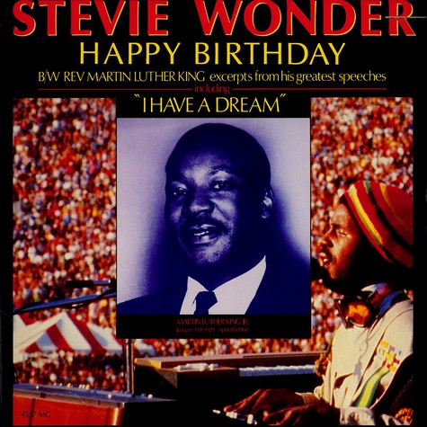 Stevie Wonder - Happy birthday - a tribute to Martin Luther King