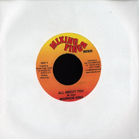 Warrior King / Tinga Stewart - All about you / bring back the love