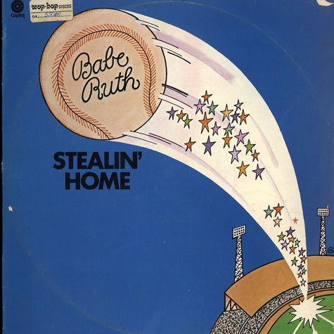 Babe Ruth - Stealin home