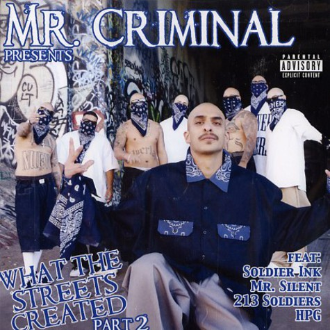 Mr.Criminal - What the streets created Part 2