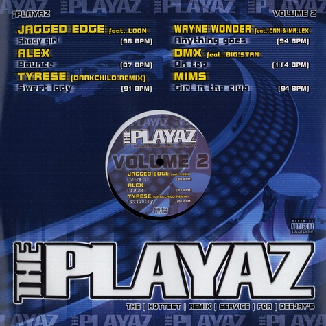 Playaz, The - Volume 2
