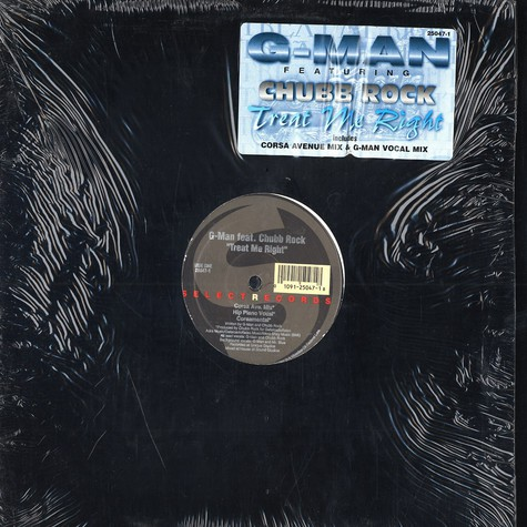 G-Man feat. Chubb Rock - Treat me right