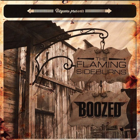 Flaming Sideburns, The / Boozed - Split EP