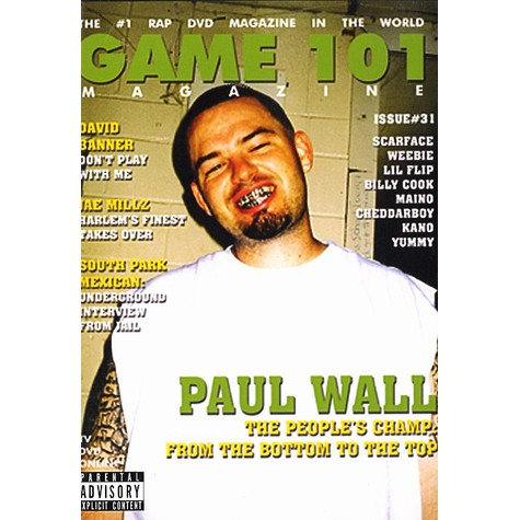 Chamillionaire, Paul Wall - Game 101 magazine - street corner TV Volume 2