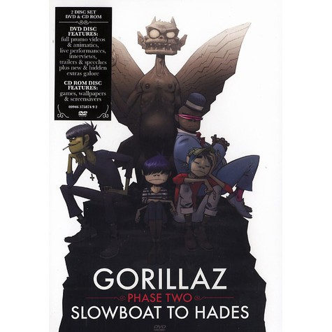 Gorillaz - Phase two - slowboat to hadles
