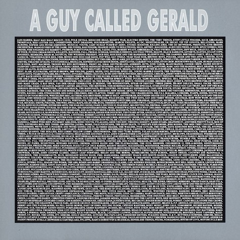 A Guy Called Gerald - Peel sessions