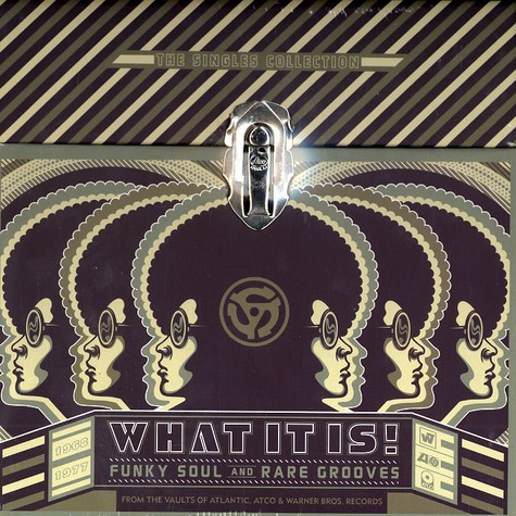 V.A. - What it is! funky soul and rare grooves