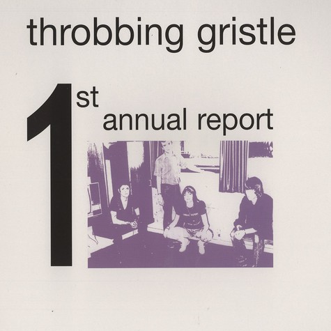 Throbbing Gristle - 1st annual report
