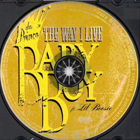 Baby Boy Da Prince - The way i live feat. Lil Boosie