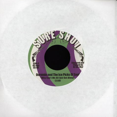 Dorando and The Ice Picks Of Soul - Why can't we all just get along