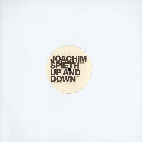 Joachim Spieth - Up and down