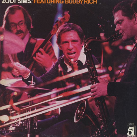Zoot Sims featuring Buddy Rich - Zoot Sims featuring Buddy Rich