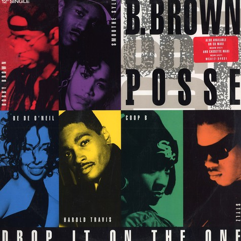 B.Brown Posse - Drop it on the one remix