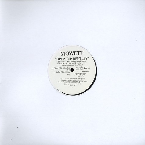 Mowett - Drop top bentley feat. Dave Hollister & LaLa