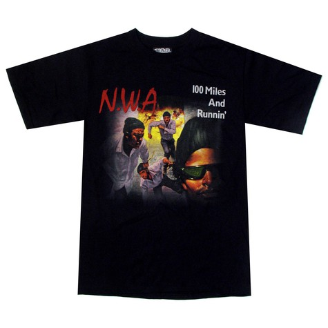 NWA - 100 miles and running T-Shirt