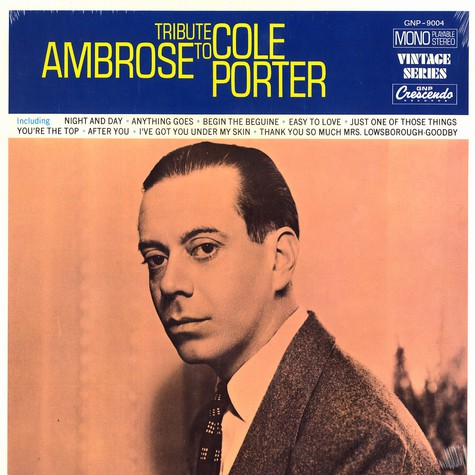 Ambrose & His Orchestra - Tribute to Cole Porter
