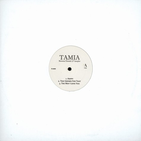 Tamia - Between friends LP sampler