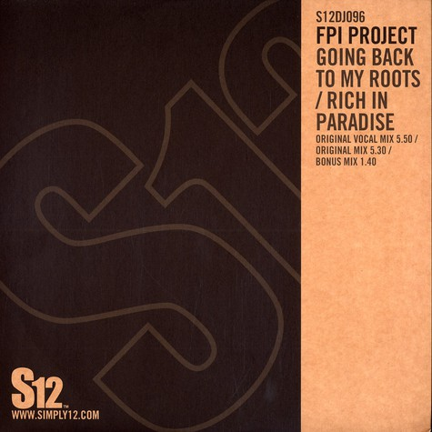 FPI Project - Going back to my roots