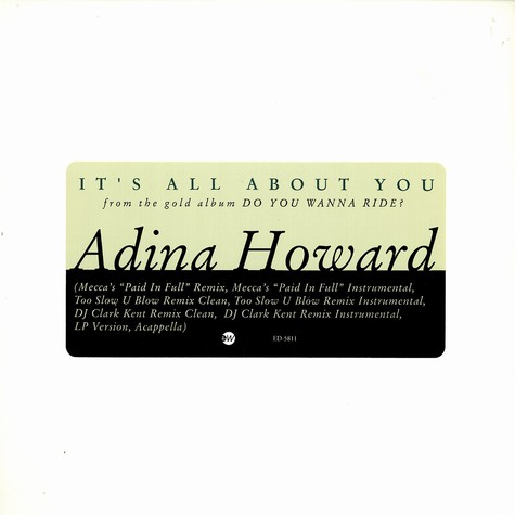 Adina Howard - It's all about you