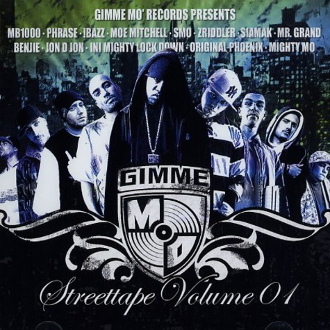 Gimme Mo Records presents - Streettape volume 01