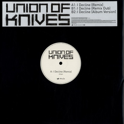 Union Of Knives - I decline