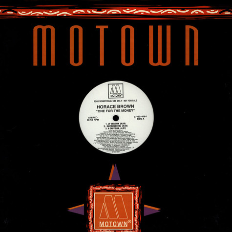Horace Brown - One for the money