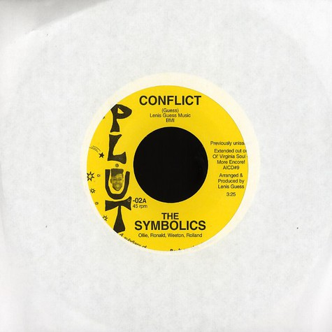 Symbolics, The - Conflict