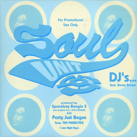 Soul Unit - Dj's feat. Booty Brown