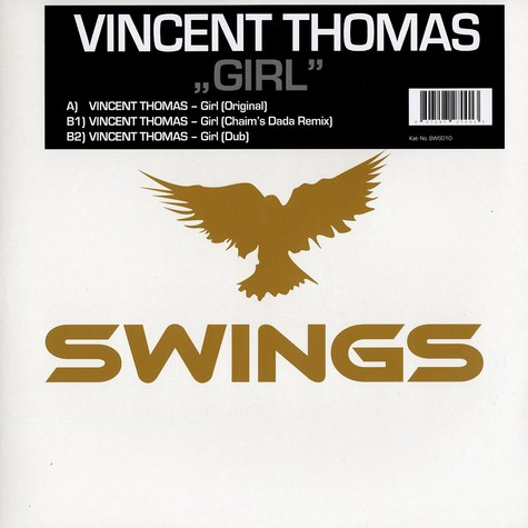Vincent Thomas - Girl