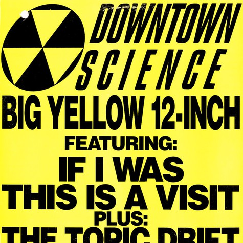 Downtown Science   - Big Yellow 12-Inch