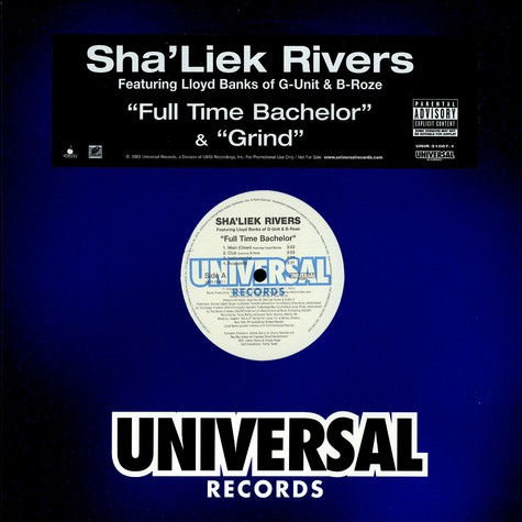 Sha Liek Rivers - Full time bachelor feat. Lloyd Banks & B-Roze