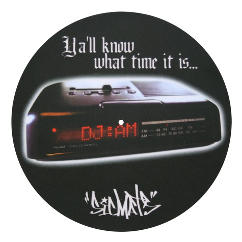 Sicmats - DJ AM design Slipmat