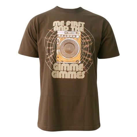 Me First And The Gimme Gimmes - Speaker T-Shirt