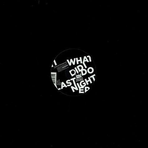 Aaron Hedges - What did i do last