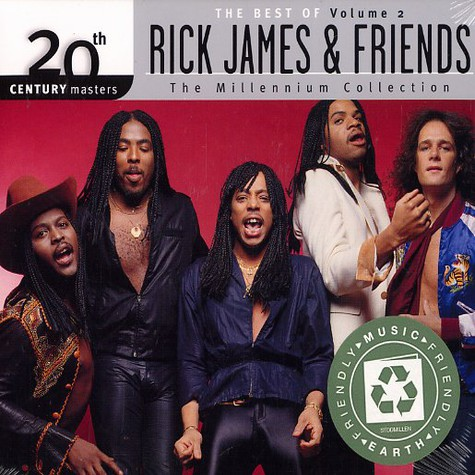 Rick James & Friends - The best of Volume 2 - 20th Century masters