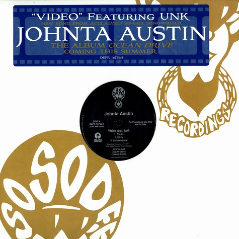 Johnta Austin - Video feat. UNK