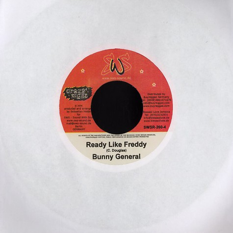 Bunny General / Mr. Glamarus - Ready like freddy / feel it