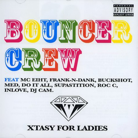 DJ Cam presents Bouncer Crew - Xtasy for ladies