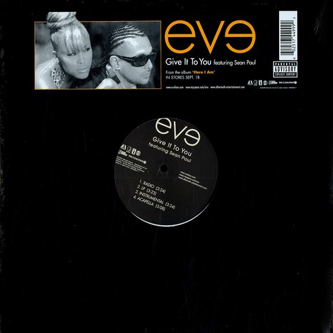 Eve - Give it to you feat. Sean Paul