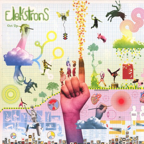 Elektrons - Get up feat. Pete Simpson & Soup of Jurassic 5