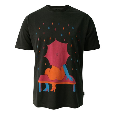 Rockwell - Rainy bench T-Shirt