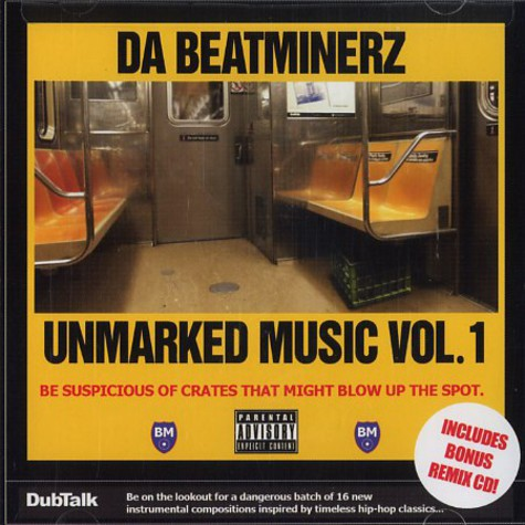 Da Beatminerz - Unmarked music volume 1