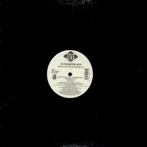 Hi-Five - What can i say to you (to justify my love)