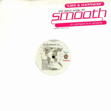 Smooth - Love & happiness