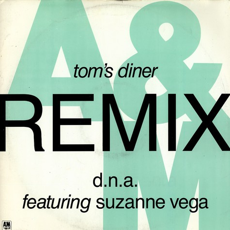 D.N.A. feat. Suzanne Vega - Tom's diner Remix