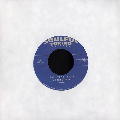 Yvonne Fair / Little Denice - Say yeah yeah / check me out